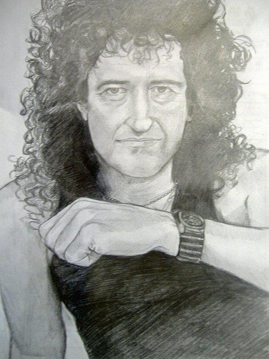 Brian May 2009 (my first birthday gift to him) - Chiara Tomaini