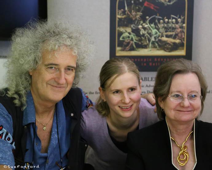 Brian, Gerlind, Paula - ©SueFoxford 2014