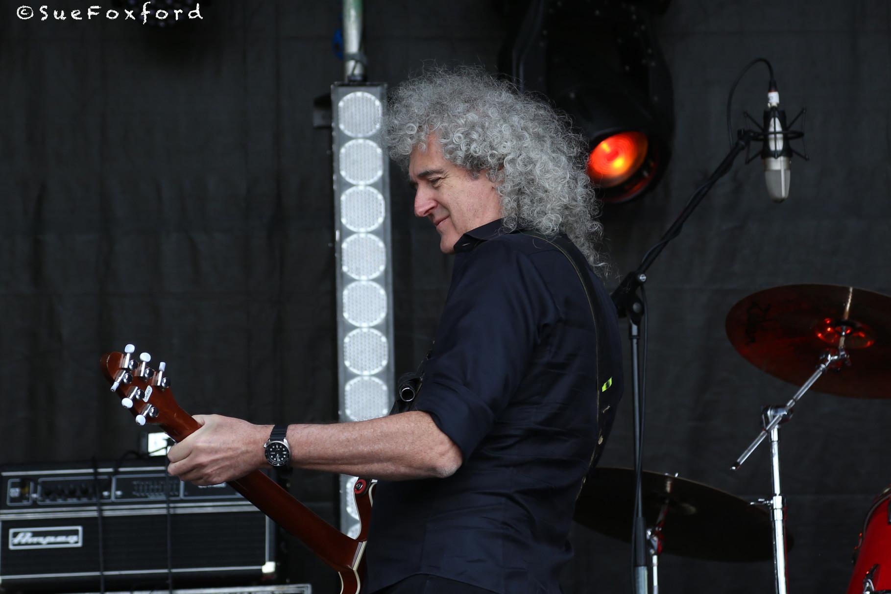 Brian May  - @SueFoxford