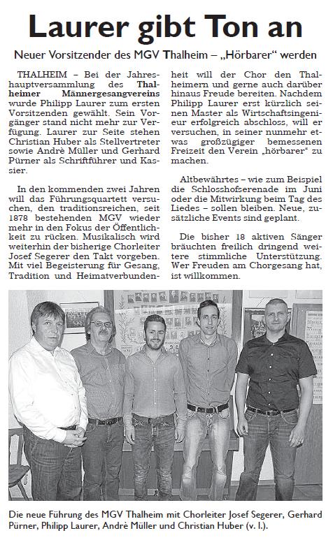 Hersbrucker Zeitung 25.01.2016
