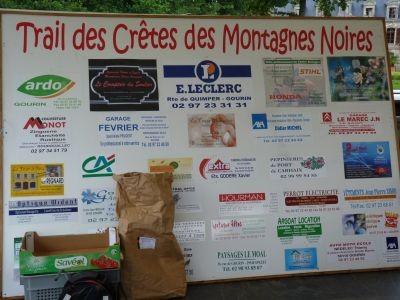 Trail des Crêtes des Montagnes Noires (Gourin - dép56 - 14 et 33km - Dim11/08/2013)