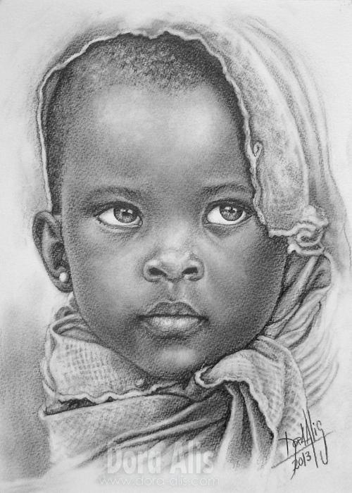 African Girl  67