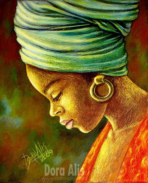 African Girl 6