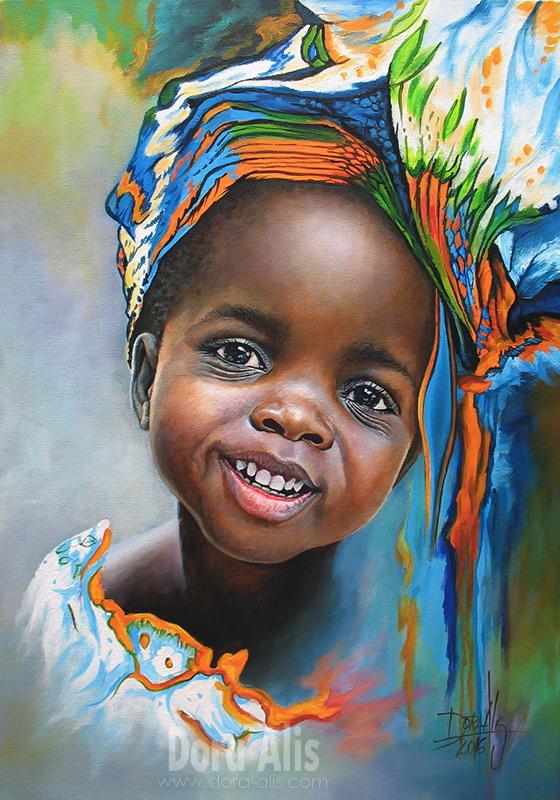 African Girl 94