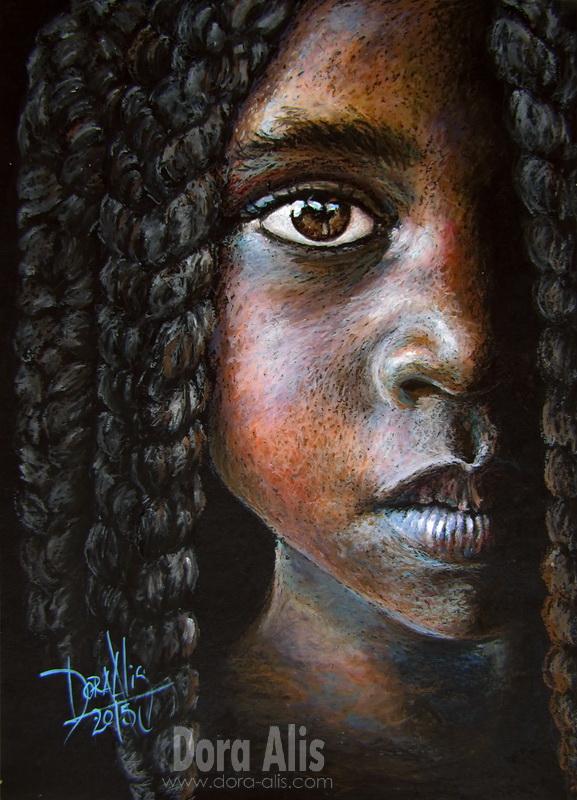 African Girl 90