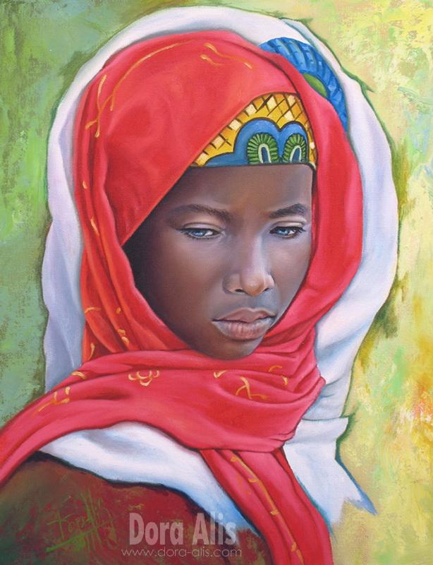 African Girl 30