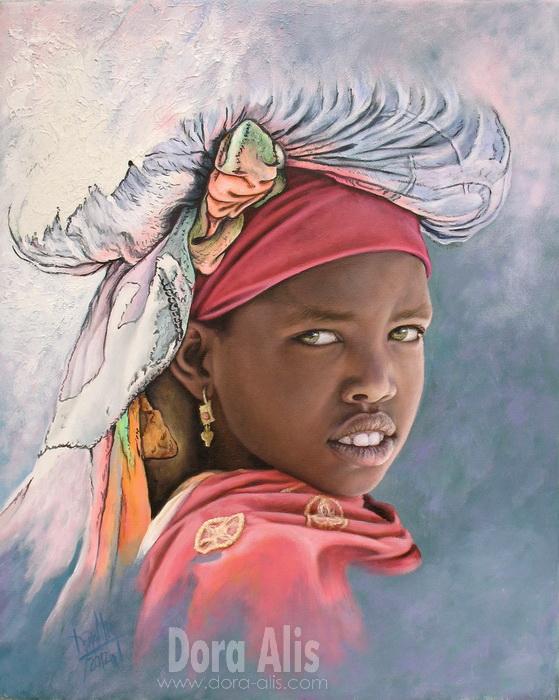 African Girl 60