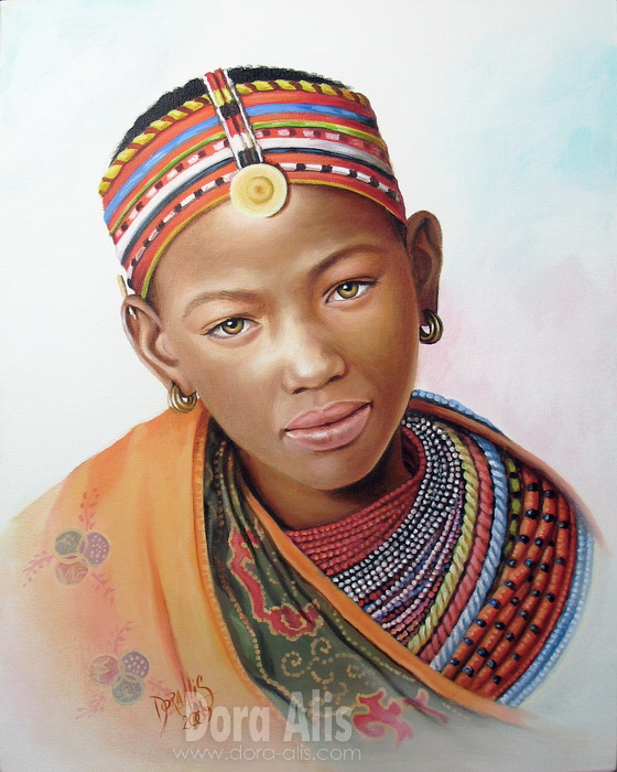 African Girl 8