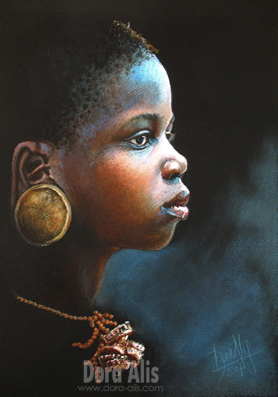 African Girl 98