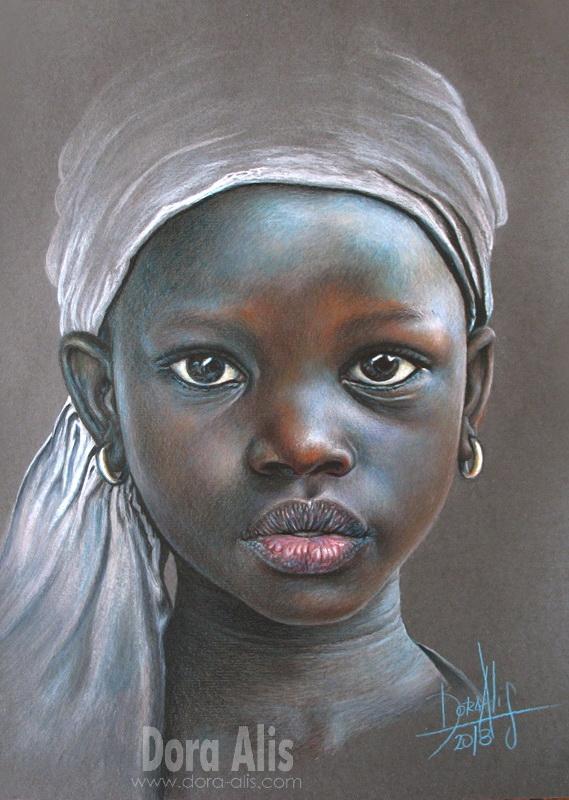 African Girl 100