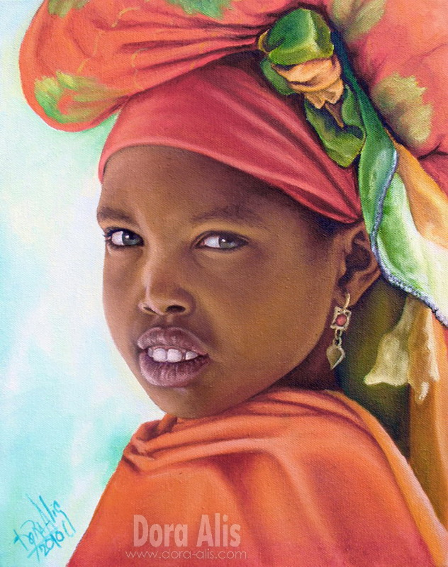 African Girl 18