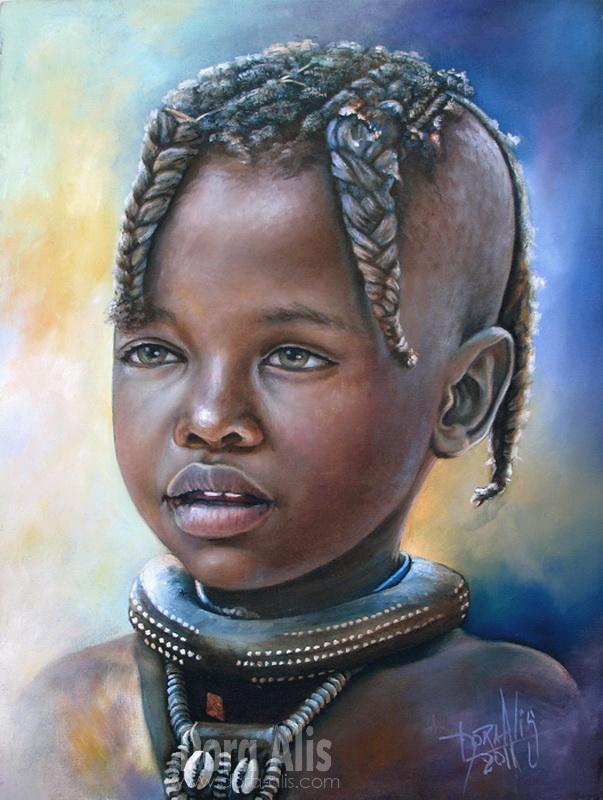 African Girl  36