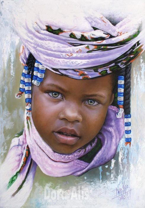 African Girl 68