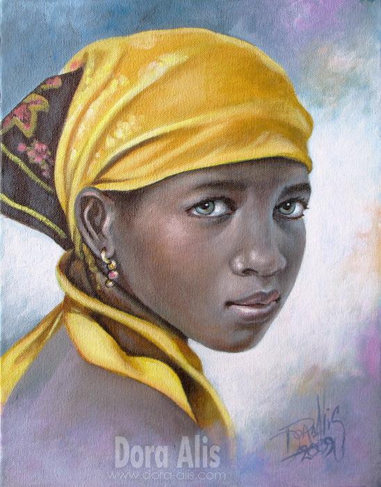 African Girl 13