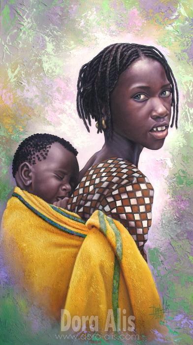 African Girl 55