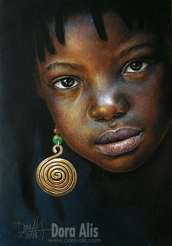 African Girl 92