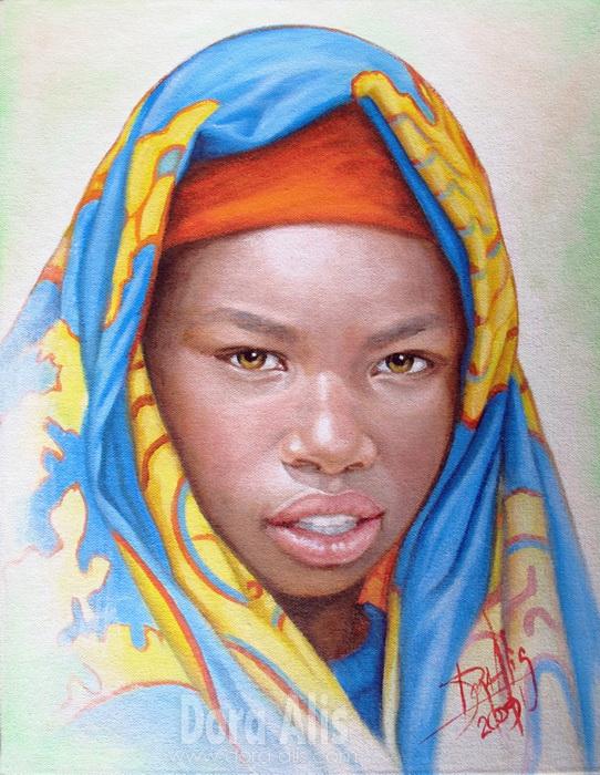 African Girl 11