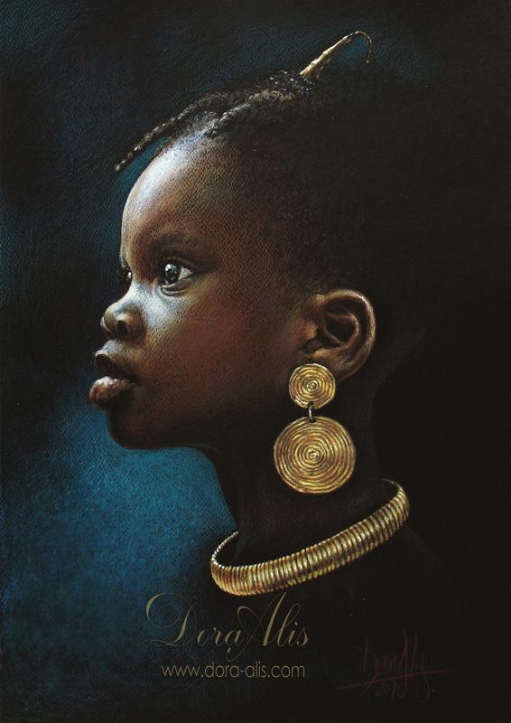 African Girl 91