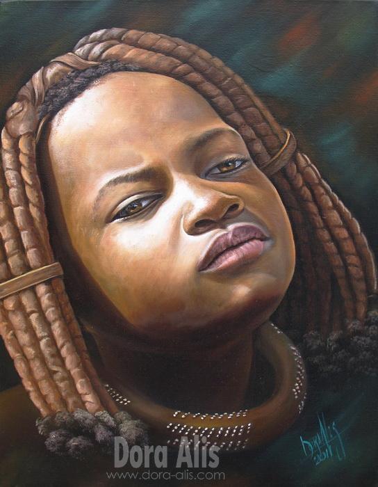African Girl  39