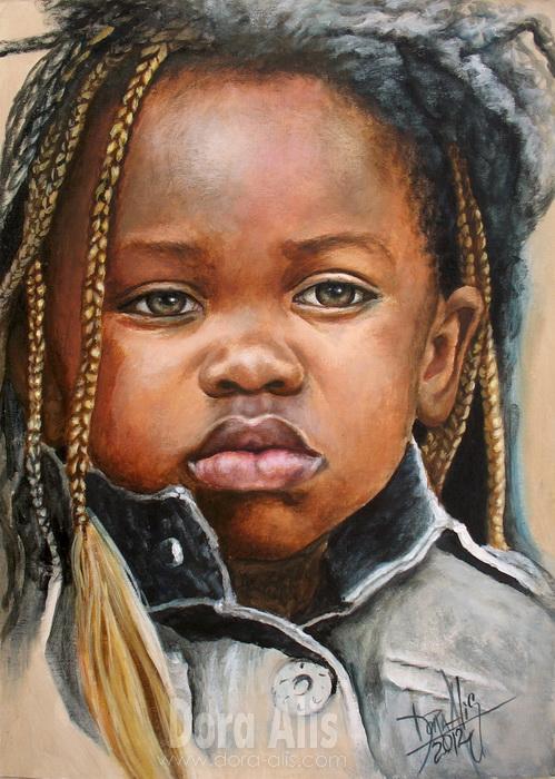 African Girl 1