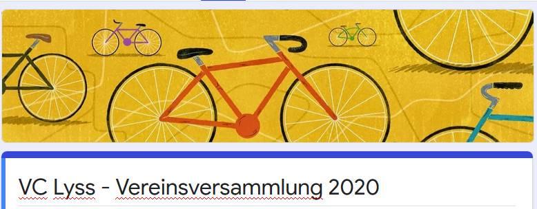 Digitale Vereinsversammlung: ✔