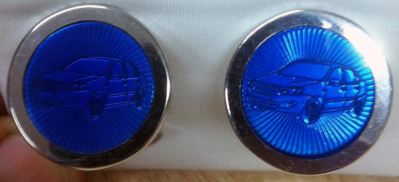 Lada Maschettenknöpfe aus Silber