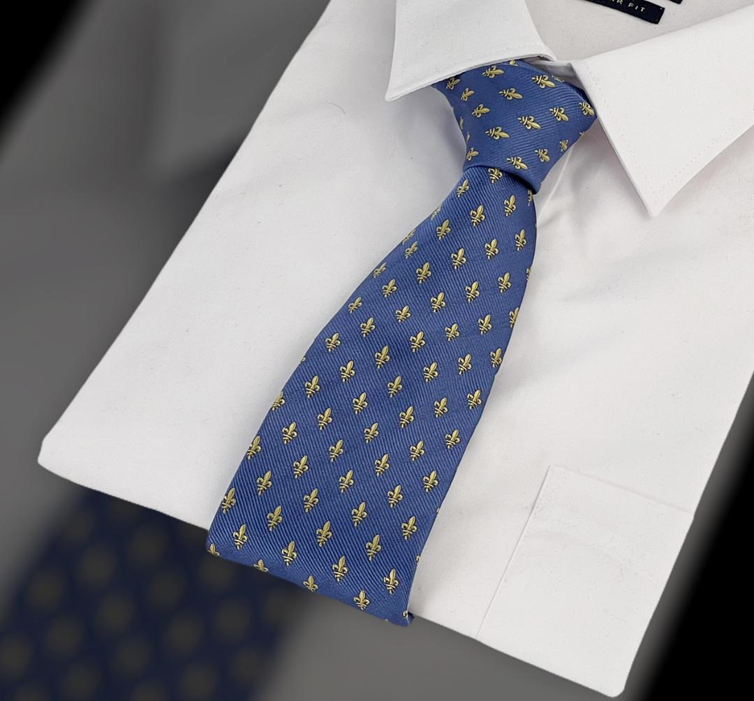 Krawatte Fleur de Lys PB Pietro Baldini