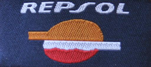 Gewebte Etikette für Kunden Krawatte in vier Farben