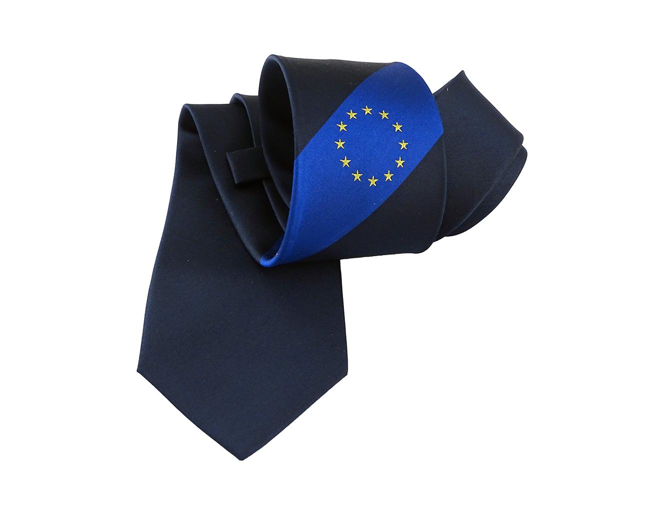 Seidenkrawatte für die EU