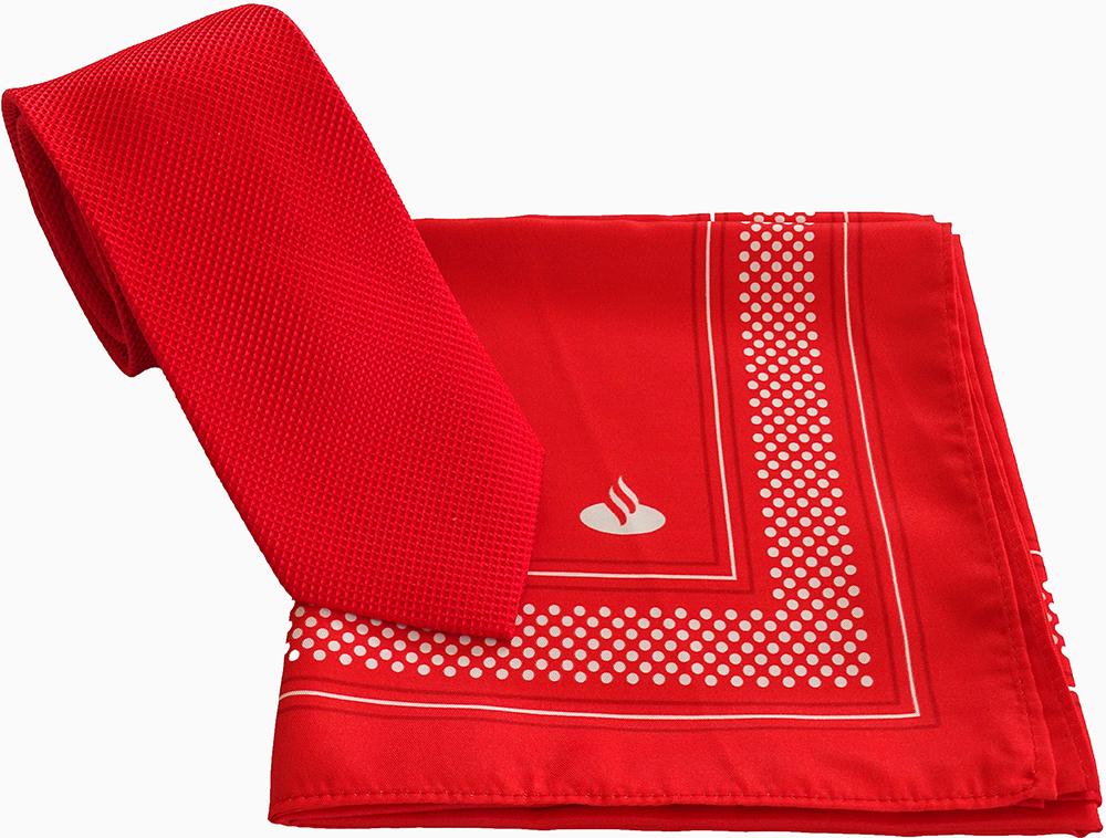 Schals und Halstücher Santander Bank