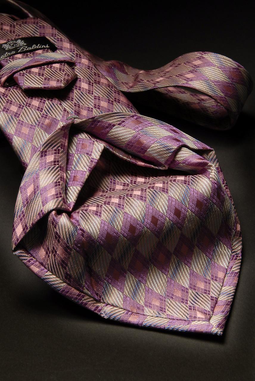 Sieben Falten Krawatte Rose