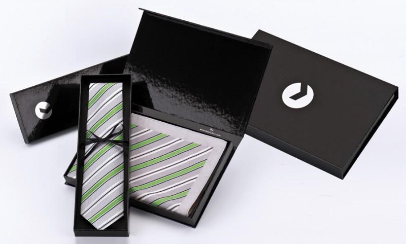 Edel Set für Krawatten und Tücher