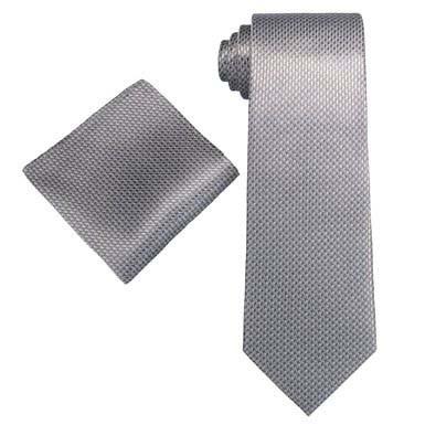 Krawatte & Einstecktuch auch mit Geschenkbox