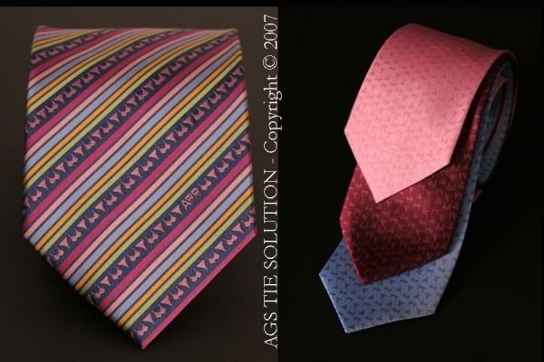 Maßgefertigte Seiden Krawatte DIM