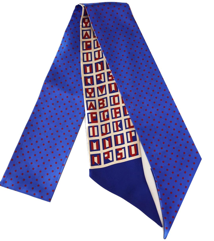 Haarband, Mitzah hergestellt im Siebdruckverfahren aus Seidentwill