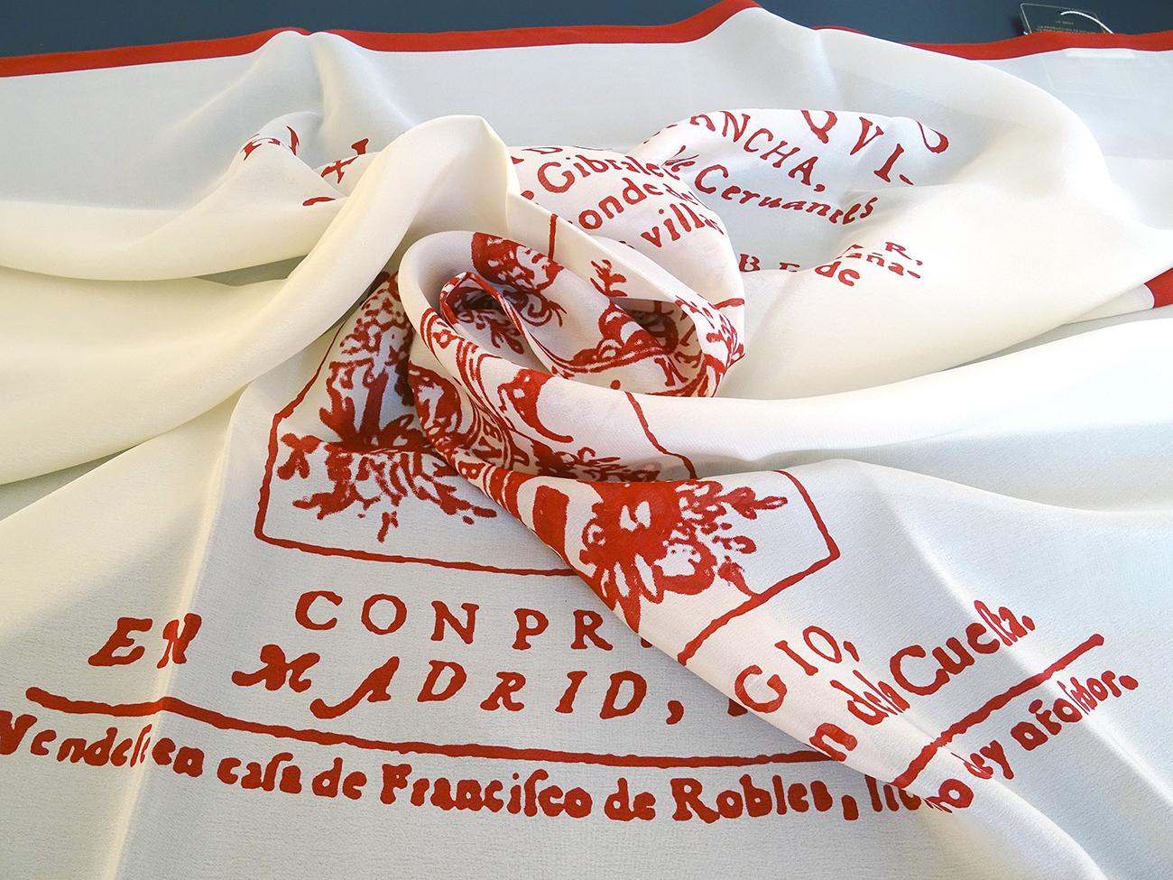 Cover des original Buches Don Quijote von Cervantes für Instituto Cervantes