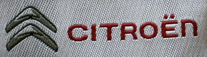 Gewebte Etikette für Kunden Krawatte in drei Farben