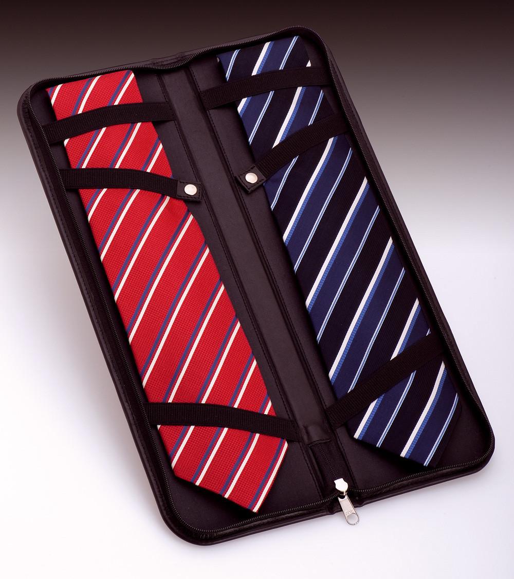 Leder Etui für Krawatten