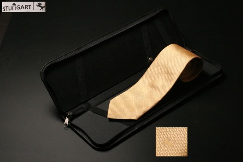 Leder Etui, handgefertigt für Krawatte