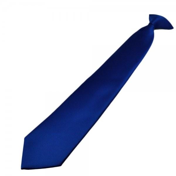 Clip Krawatte polyester blue