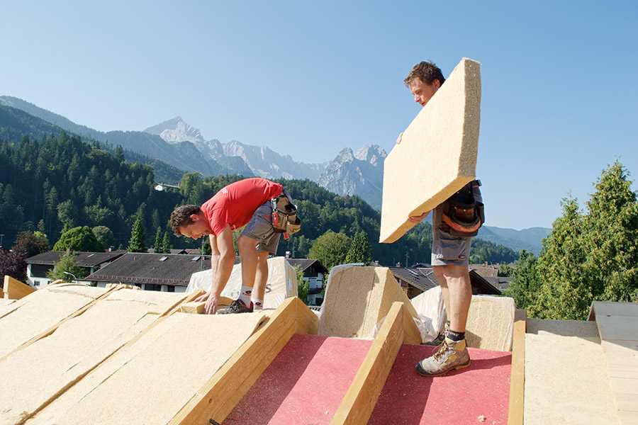 STEICOflex Dämm-Platten zur Dachdämmung
