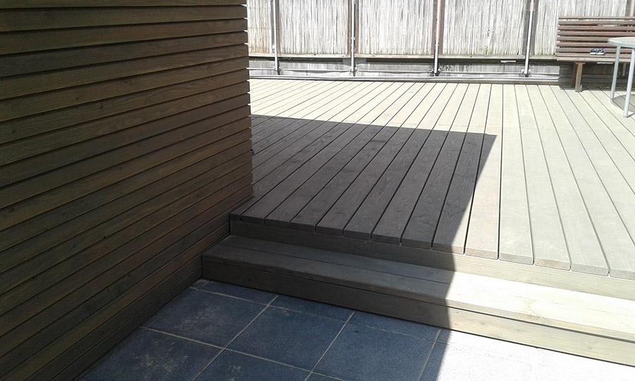 Holzboden vorvergraut