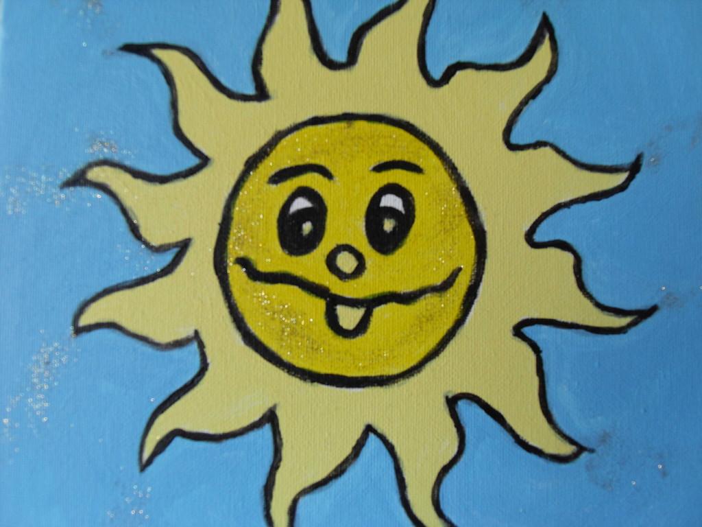 Le soleil joyeux