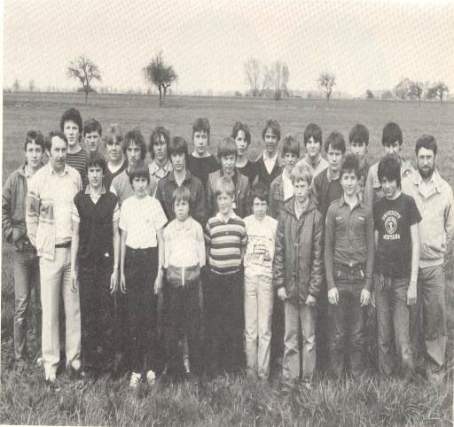 Die Jugendgruppe des ASV