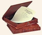 Zur stilvollen Aufbewahrung von Dokumenten