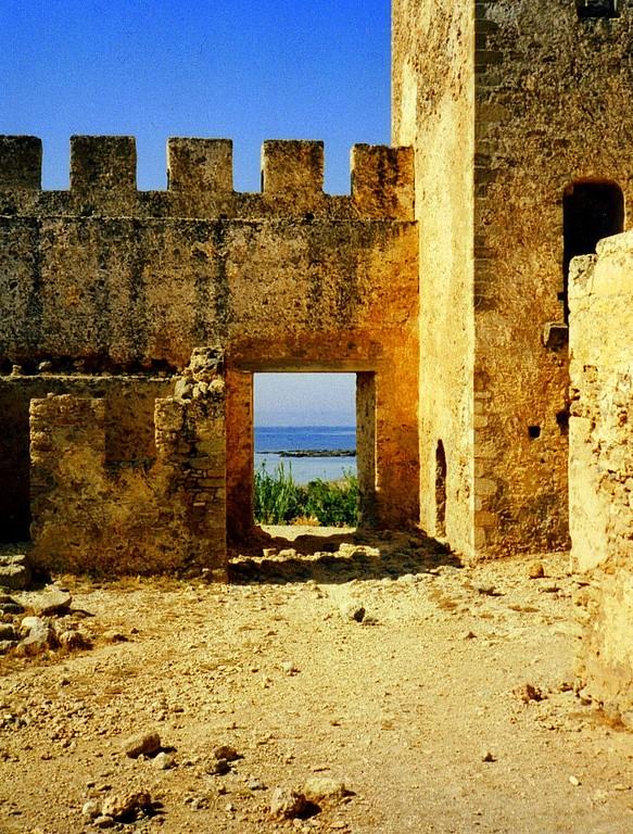 Frangokastro auf Kreta 1992