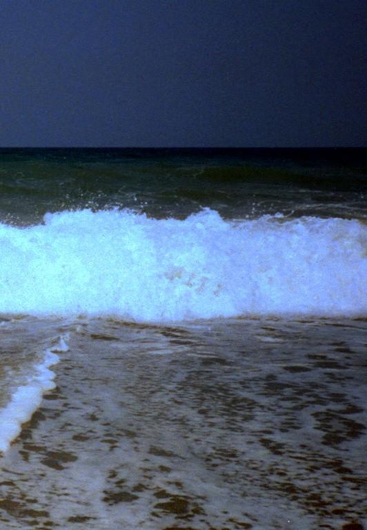 Meeresbrandung Kreta 1992