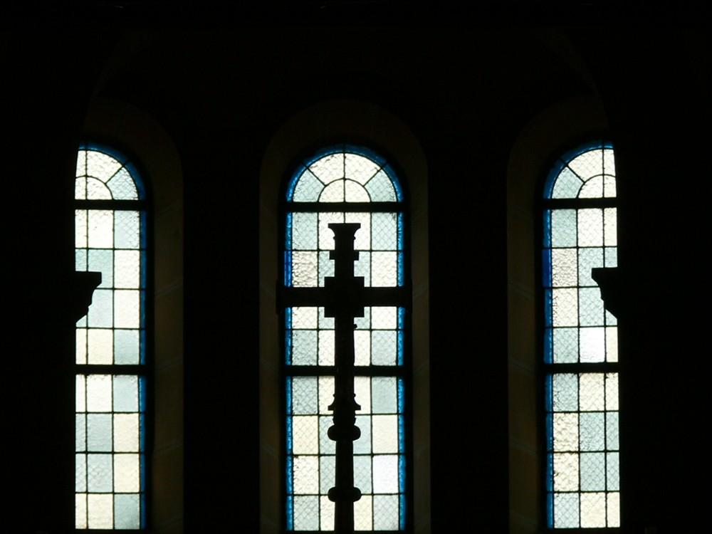 Gegenlicht - der Altar