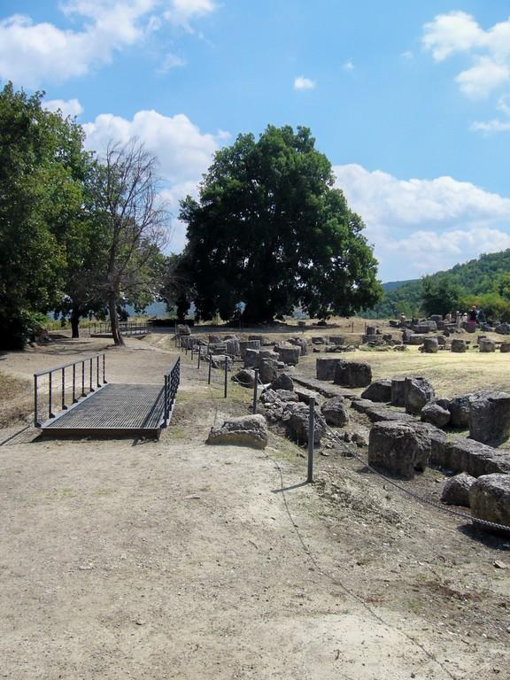 Ausgrabungen *Philipp von Mazedonien* Vergina 2006