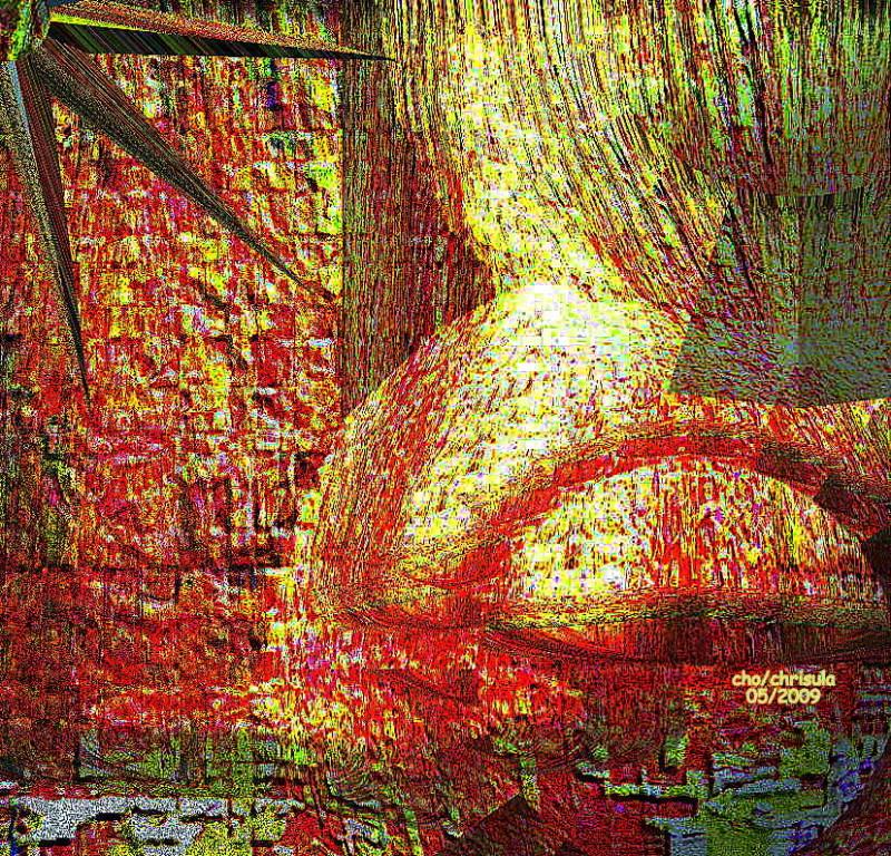 Der Rosenplanet - foto-art 2009
